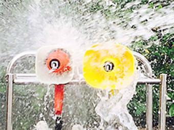 耐水テスト写真